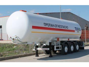 DOĞAN YILDIZ 45 m3 SEMI TRAILER LPG TRANSPORT TANK - tank semi-trailer