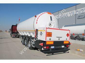 DOĞAN YILDIZ 47 M3 LPG TANK TRAILER 12.220KG EMPTY WEIGHT - tank semi-trailer