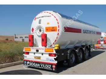 DOĞAN YILDIZ 48 M3 SEMI TRAILER LPG TANK - tank semi-trailer