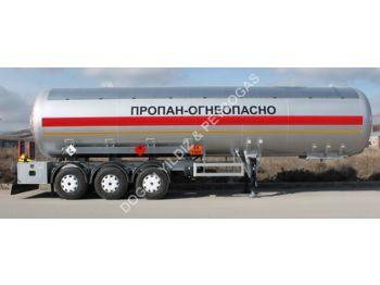 DOĞAN YILDIZ 50 M3 SEMI TRAILER LPG TANK - tank semi-trailer
