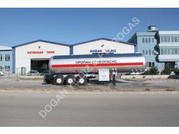 DOĞAN YILDIZ 50 M3 SEMI TRAILER LPG TANK WITH CORKEN PUMP - tank semi-trailer