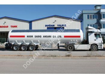 DOĞAN YILDIZ 52 M3 SEMI TRAILER LPG TANK - tank semi-trailer