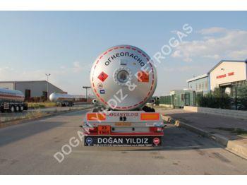 DOĞAN YILDIZ 55 M3 SEMI TRAILER LPG TANK - tank semi-trailer