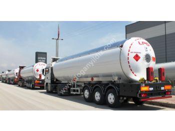 DOĞAN YILDIZ 56 m3 LPG TANK TRAILER - tank semi-trailer