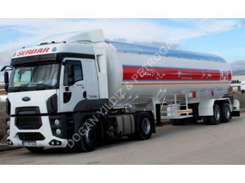 DOĞAN YILDIZ 57 M3 SEMI TRAILER LPG TANK FOR YEMEN - tank semi-trailer