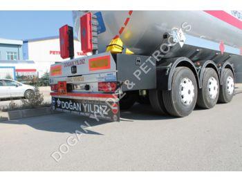 DOĞAN YILDIZ 70 M3 SEMI TRAILER LPG TANK - tank semi-trailer