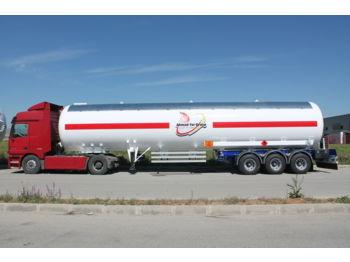 DOĞAN YILDIZ 70 M3 SEMI TRAILER LPG TANK WITH 12 TYRES - tank semi-trailer