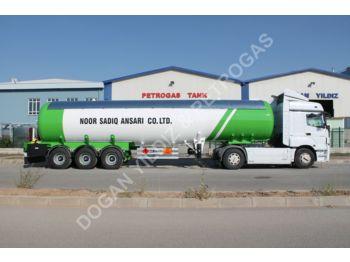 DOĞAN YILDIZ BOTTLE NECK TYPE SEMI TRAILER LPG TANK - tank semi-trailer