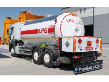 DOĞAN YILDIZ FORD CARGO 22 M3 BOBTAIL LPG TANK - tank semi-trailer