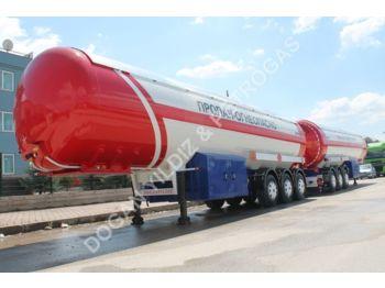 DOĞAN YILDIZ LPG TANK - tank semi-trailer