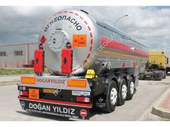 DOĞAN YILDIZ SEMI TRAILER LPG TANK WITH CORKEN Z2000 PUMP AND ROCHESTER - tank semi-trailer