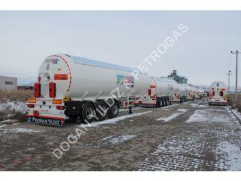 DOĞAN YILDIZ SEMI TRAILER LPG TRANSPORT TANK - tank semi-trailer