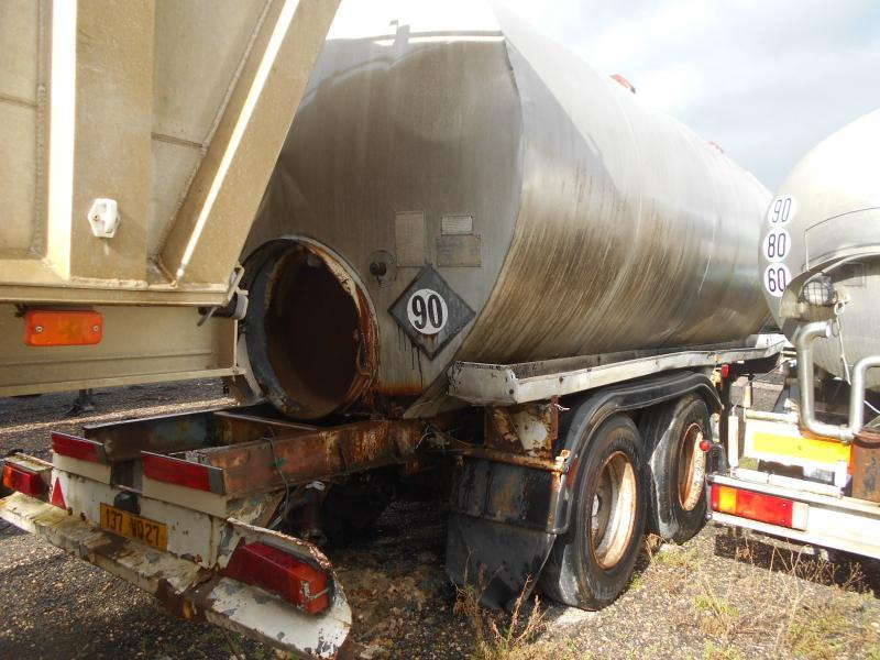tank semi-trailer Fruehauf