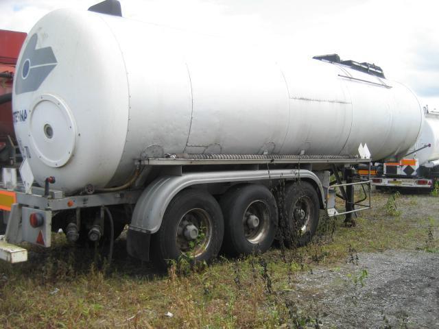 tank semi-trailer LOHEAC bitume