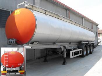 MENCI BITUMEN 300C ISOLIATION ABS+ADR+DISC BRAKES+LIFT AXLE+ALLU WHEELS 34.610 L  - tank semi-trailer