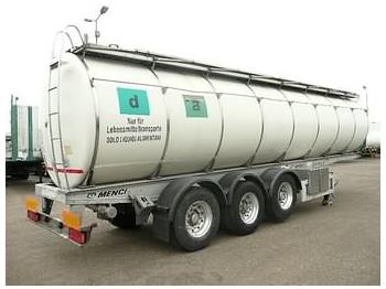 MENCI FOODSTUFF - tank semi-trailer