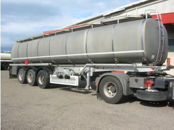 MENCI FUEL/BENZIN/DIESEL/DIEZEL ABS+ADR+ROR 2xKAMER 38.610LTR MENCI FUEL/BENZIN/DIESEL/DIEZEL ABS+ADR+ROR 2xKAMER 38.610LTR - tank semi-trailer