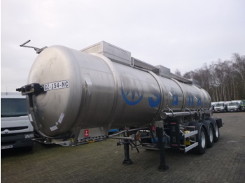 Tank semi-trailer Magyar Chemical tank inox 21 m3 / 1 comp