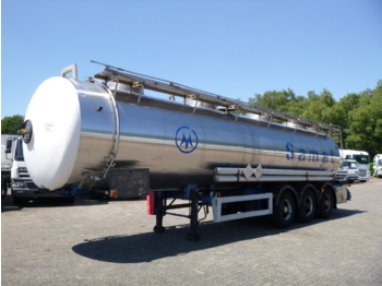 Tank semi-trailer Magyar Chemical tank inox 30 m3 / 1 comp + pump: picture 1