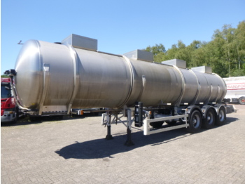 Tank semi-trailer Magyar Chemical tank inox 31 m3 / 1 comp