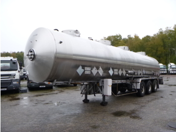 Tank semi-trailer Magyar Chemical tank inox 31 m3 / 4 comp