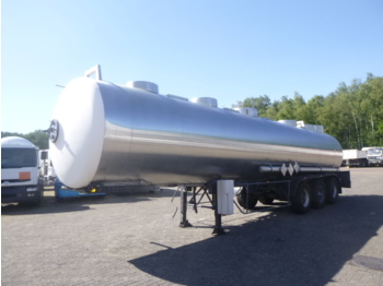 Tank semi-trailer Magyar Chemical tank inox 32.5 m3 / 1 comp