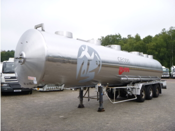 Tank semi-trailer Magyar Chemical tank inox 32.6 m3 / 1 comp