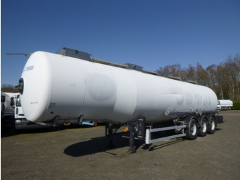 Tank semi-trailer Magyar Chemical tank inox 34 m3 / 1 comp