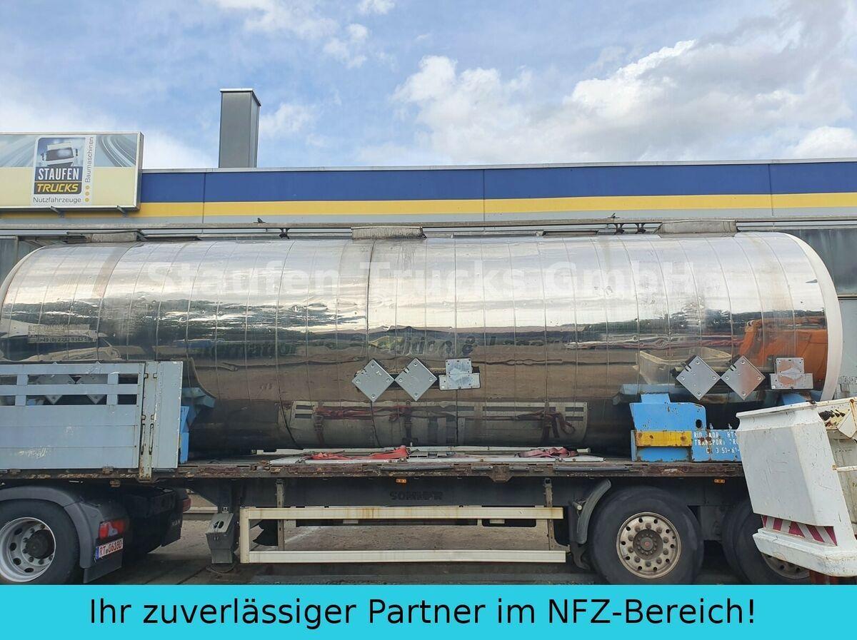 tank semi-trailer Magyar V4A CHEMIE  Tankcontainer isoliert  32.500 liter