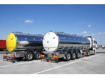 Menci DRUCK TANK 2,7 bar, ERWÄRUNG, 31.000 ltr, - tank semi-trailer
