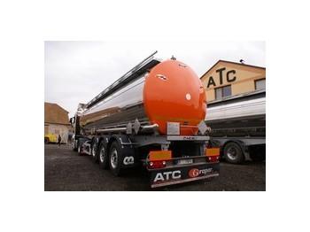 Menci FOOD & ALKOHOL, DRUCK, ADR A3 LGBF, HEIZUNG - tank semi-trailer