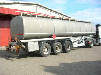 Menci FUEL/BENZIN/DIESEL ABS+ADR+ROR 2xKAMER 38.610L - tank semi-trailer