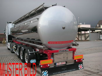 Menci Santi ,Heizung,Druck 2,0Bar,ADR Klasse 3 - tank semi-trailer