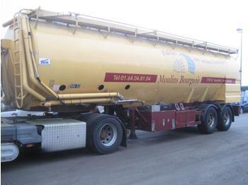 Tank semi-trailer Ova