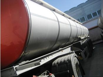 SAFA -MENCI chassis- - tank semi-trailer