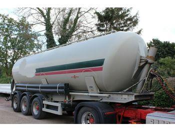 Tank semi-trailer Spier Kipp Silo 3 -Achser