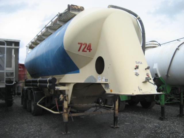 tank semi-trailer Spitzer