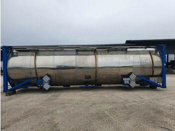Tank semi-trailer T+A TANK CONTAINER Chemietank  V4A 31000 Liter