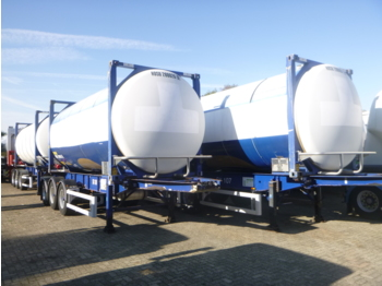 Van Hool FOOD / BEER tank container - swap body 20 ft inox 28.8 m3 - tank semi-trailer