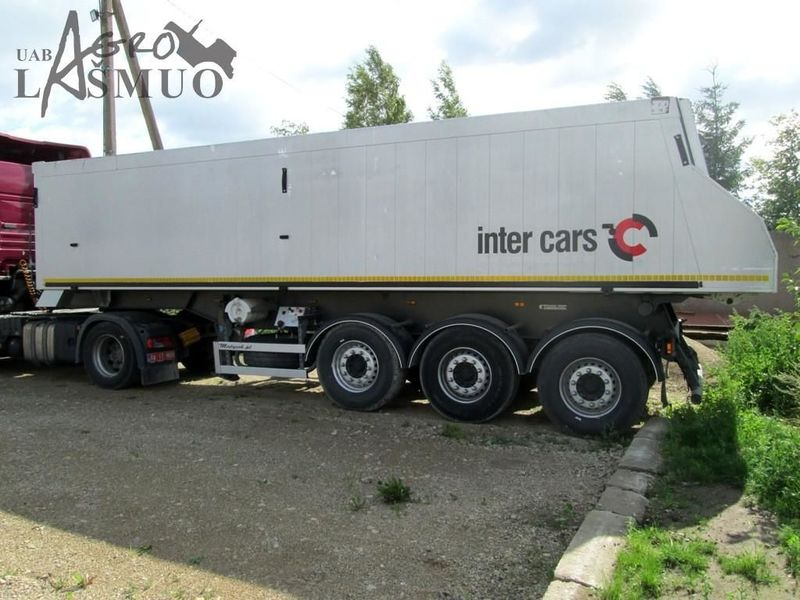 FEBER INTER CARS tipper semi-trailer from Lithuania for sale at ...