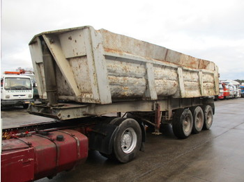 Krone NDZY837 (FULL STEEL SUSPENSION) - tipper semi-trailer