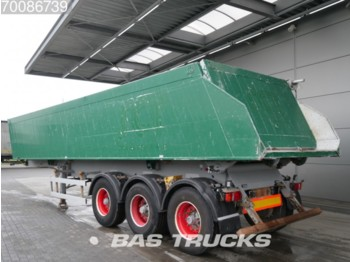 Meiller 33m3 Liftachse Alukipper TR3 - tipper semi-trailer