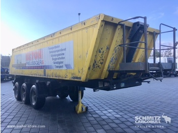 Meiller Tipper Alu-square sided body 24m³ - tipper semi-trailer