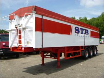 OVA Tipper trailer alu 52 m3 + tarpaulin - tipper semi-trailer