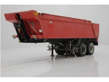 Benalu 21 m³ in Alu - tipper semi-trailer