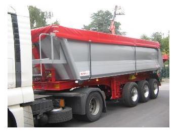Benalu 3-Achs-Kippauflieger 25m³ - tipper semi-trailer