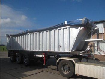 Benalu 3as bladgeveerd met intarder - tipper semi-trailer