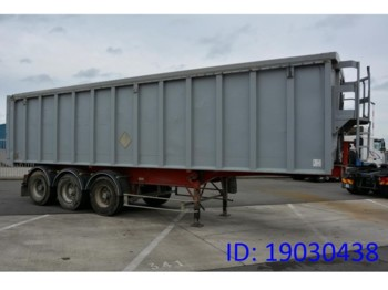 Tipper semi-trailer Benalu 45 cub in alu