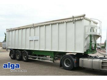 Benalu Alu-Mulde, 55m³, Alu-Chassis, leicht, Kombitüren  - tipper semi-trailer