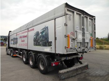 Benalu OPTILINER 106, BPW, 50m3, VOLL ALU  - tipper semi-trailer